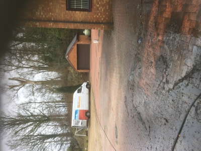 Drive cleaning in Miskin